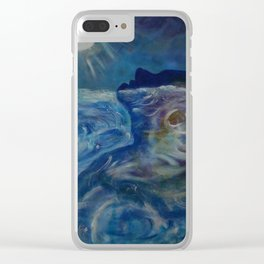 Emergence Clear iPhone Case