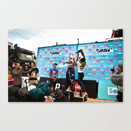 Mick Fanning  Surf, Hossegor- France - 2013 Canvas Print