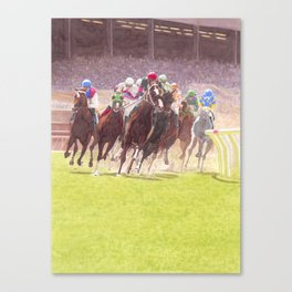 Clubhouse Turn Canvas Print