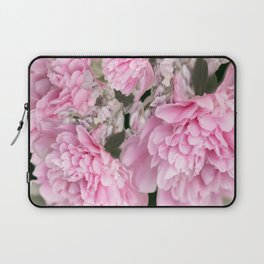 Pink Bouquet On A Black Background  #society6 #buyart Laptop Sleeve