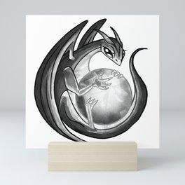 Scrying Dragon Mini Art Print