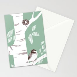Birch Birds Stationery Cards