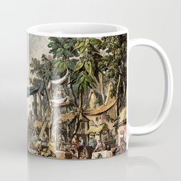 Market Scene in an Imaginary Oriental Port 1764 Coffee Mug