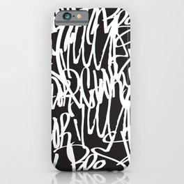 Graffiti illustration 07 iPhone Case