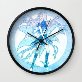 The Dream Faerie Wall Clock