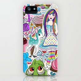 Candy Pop World iPhone Case