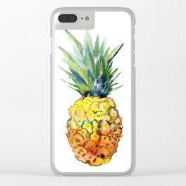 Pinapple Clear iPhone Case