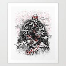 Call of Tradition Art Print