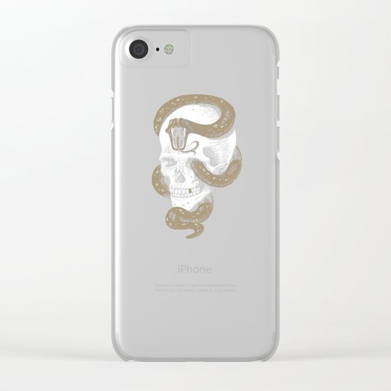 The Dark Mark of You-Know-Who Clear iPhone Case