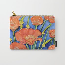 Pardon my Poppies Carry-All Pouch