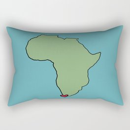 Ali Hearts Cape Town Rectangular Pillow