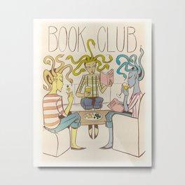 Three Furies Book Club Metal Print