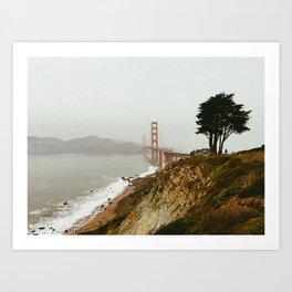Golden Gate Bridge / San Francisco, California Art Print