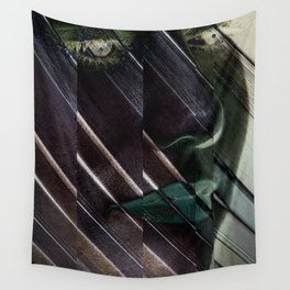 Slanted Cage Wall Tapestry