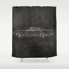 Supernatural: Impala Shower Curtain