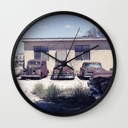 Rusty Classics Wall Clock