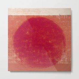 Submerged Sun Metal Print