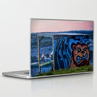grand theft auto Laptop & iPad Skins featuring Oxygen Theft by Mark Nelson