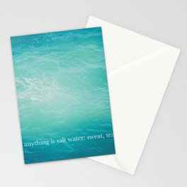the sea 02 Stationery Cards