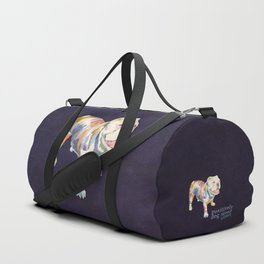 English Bulldog Duffle Bag