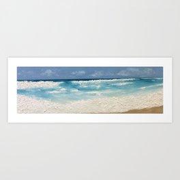 Destin Beach Art Print