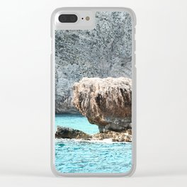 ZAkintos. Greece Clear iPhone Case