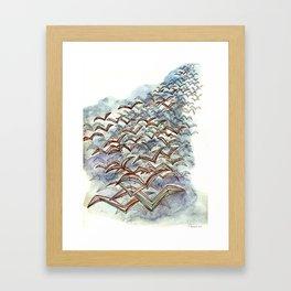 The Flock. Framed Art Print