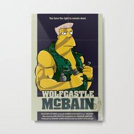 McBain Metal Print