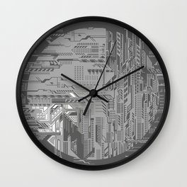 systems Wall Clock