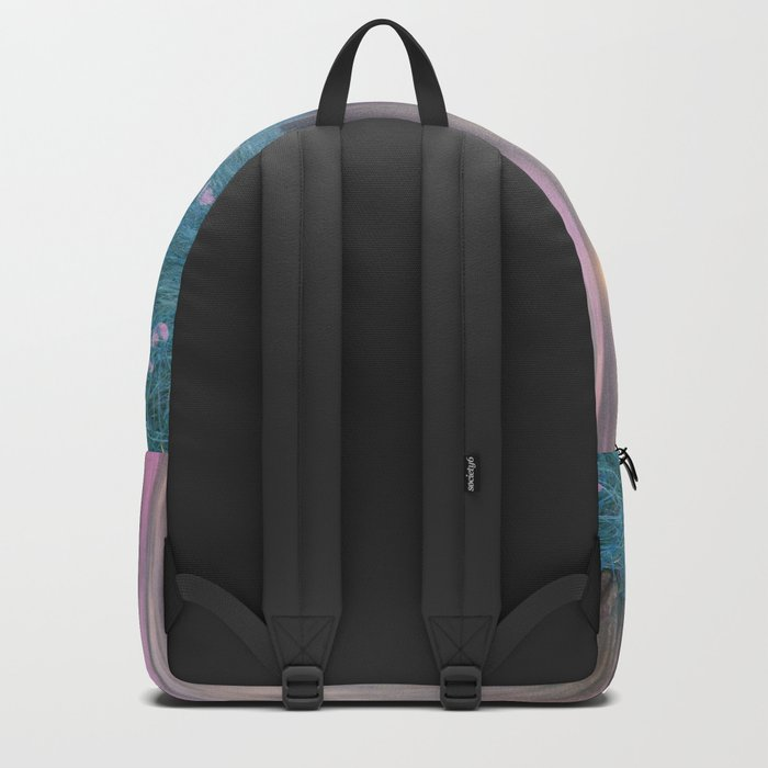 Pink feather dance Backpack