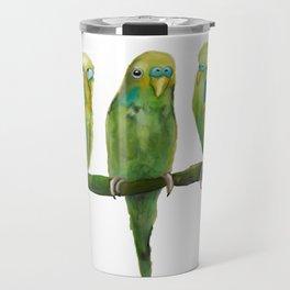 Budgerigar Travel Mug