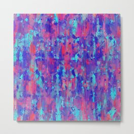 Abstract Prject Metal Print