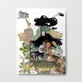 L'aigle noir Metal Print