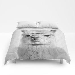 Alpaca - Black & White Comforters
