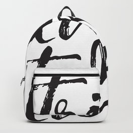 Trick or Treat (black) Backpack