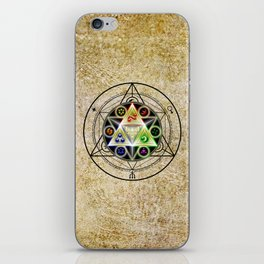 zelda triforce iPhone Skin