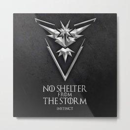 Team Storm Instinct Metal Print