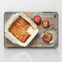 dessert iPad Cases featuring Apple Dessert by diane555