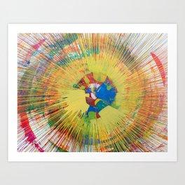 645rpm Art Print