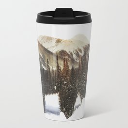 Arctic Grizzly Bear Travel Mug