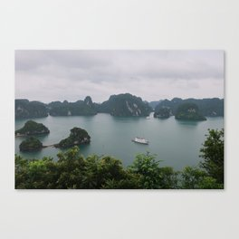 Ha Long Bay Islands Canvas Print