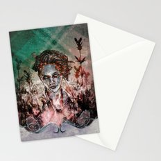 IN HER VICTORY GARDEN Stationery Cards