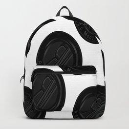 Riggo Monti Design #4 - Riggo Emblem Diagonal Pattern (Wht. Bkgrnd.) Backpack