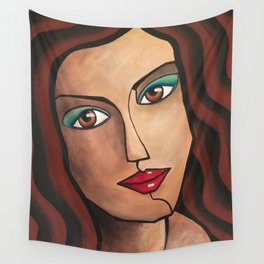 Middle East Woman Wall Tapestry