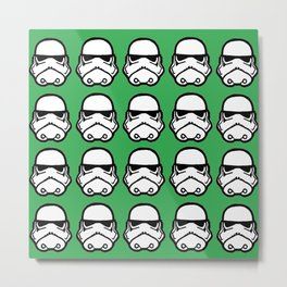 Stormtroopers in forest green Metal Print