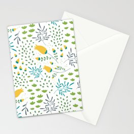 Fresh Flowers Pattern Stationery Cards