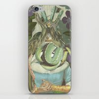 queen iPhone & iPod Skins featuring Queen  by Nicholas Lockyer