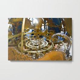 Precious Globus in Hillerod, Frederiksborg castle, Denmark Metal Print