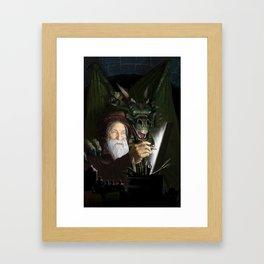 The Chamber of Airbrush Magic Framed Art Print