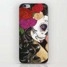 Natural High: Maquillaje De La Dia iPhone & iPod Skin